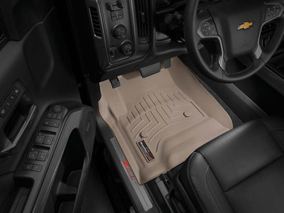 WeatherTech DigitalFit FloorLiner in a Chevrolet Silverado.  (PRNewsFoto/WeatherTech)
