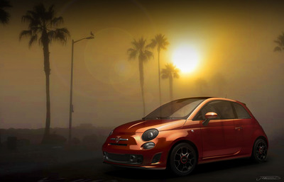 "Fiat 500 ""Cattiva"" design concept will be introduced at the 2013 North American International Auto Show.  The design concept is inspired by the Fiat 500 Turbo.  (PRNewsFoto/Chrysler Group LLC)"