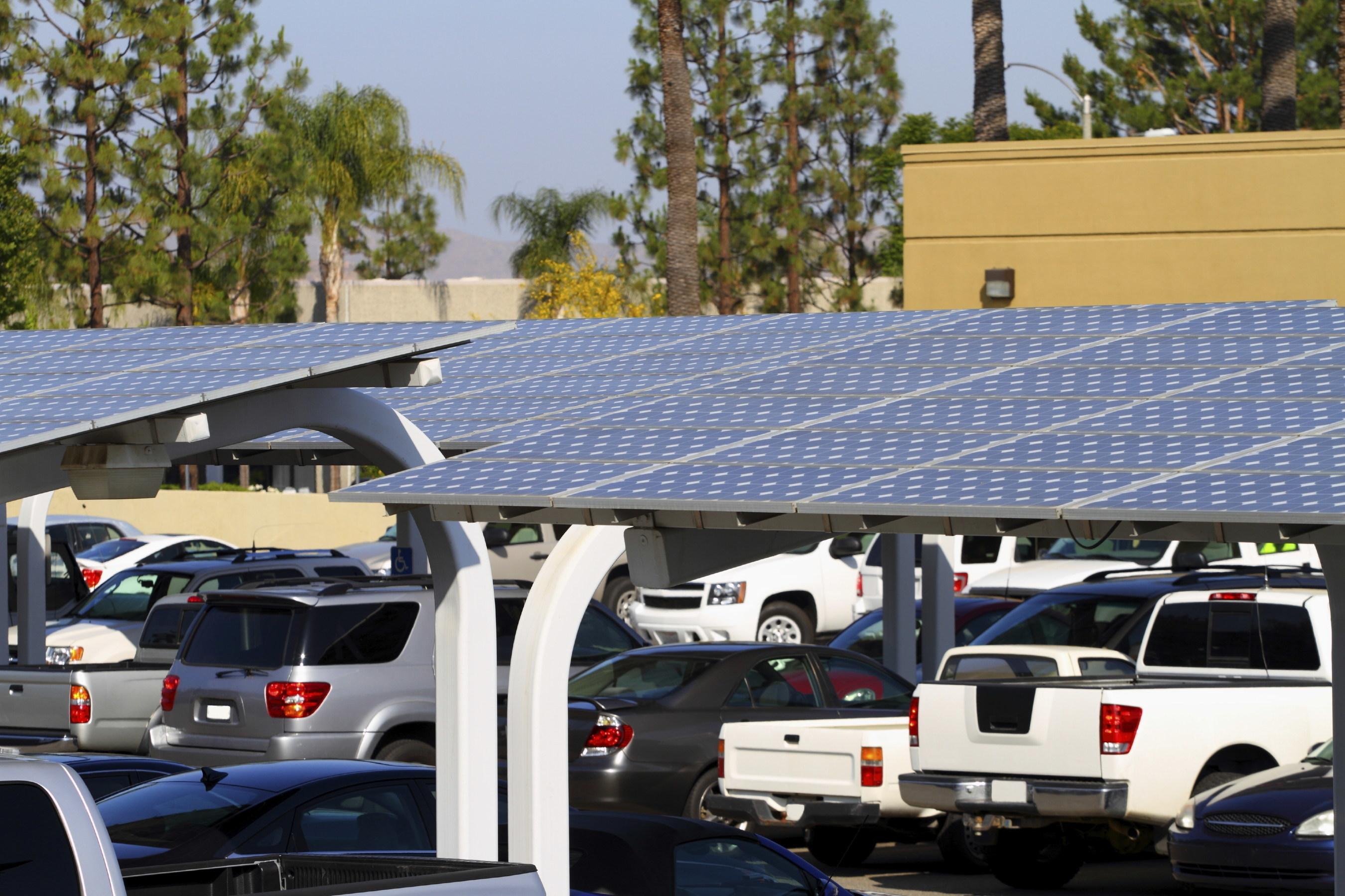 Sample Solar Canopy