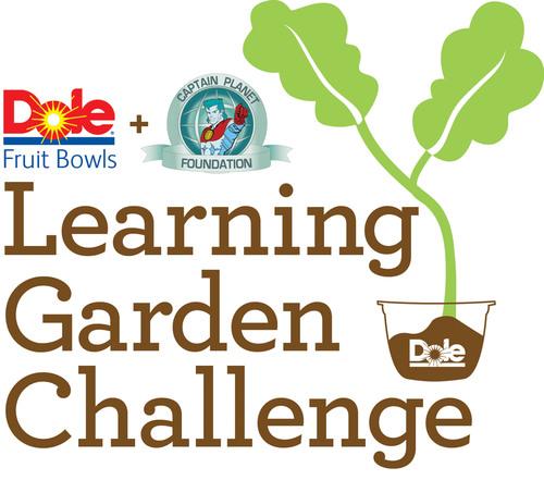 DOLE Fruit Bowls & Captain Planet Foundation's Learning Garden Challenge. (PRNewsFoto/Dole Packaged Foods, LLC) (PRNewsFoto/DOLE PACKAGED FOODS_ LLC)