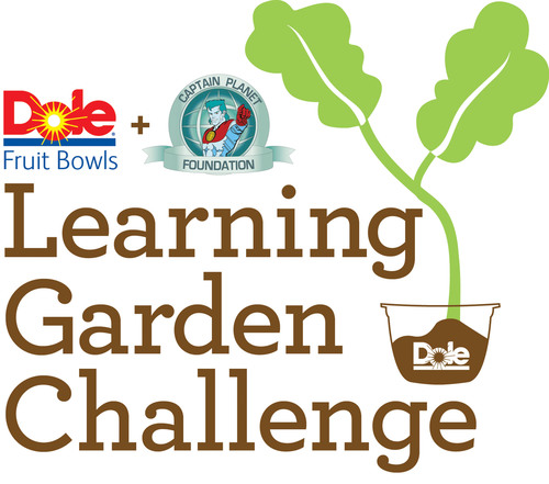 DOLE Fruit Bowls & Captain Planet Foundation's Learning Garden Challenge. (PRNewsFoto/Dole Packaged Foods, ...