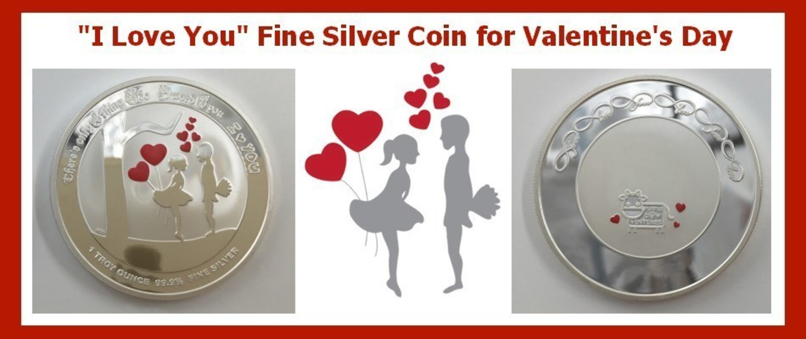 The I Love You Silver Coin Is Perfect for Couples Who Want a Gift That Lasts as Long as Their Love