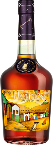 Hennessy unveils new Limited Edition V.S Bottle designed by Brazilian artists Os Gemeos.  (PRNewsFoto/Hennessy)