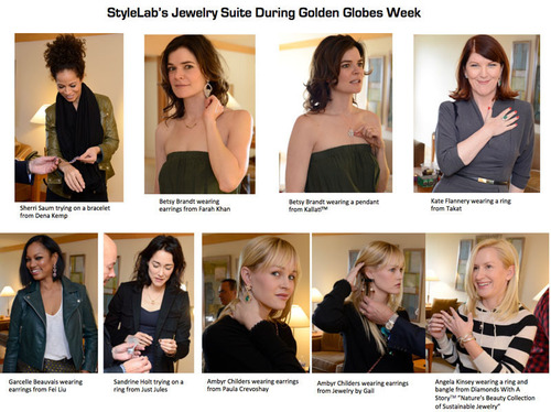 StyleLab's Jewelry Suite During Golden Globes Week.  (PRNewsFoto/StyleLab)