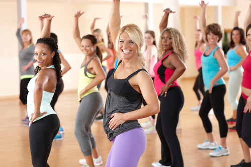 Jazzercise offers free fitness classes every weekend in March at participating locations worldwide. No strings attached!.  (PRNewsFoto/Jazzercise, Inc.)