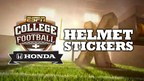 Honda Partners with ESPN College Football (PRNewsFoto/Honda)