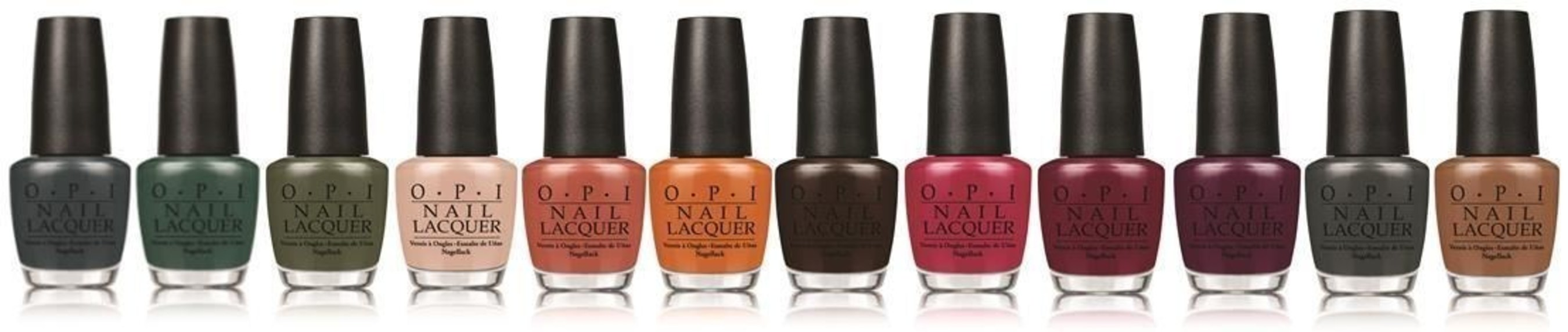 With its magnificent mix of the historical and the cosmopolitan - Washington, D.C. is one of the world's most compelling cities.  It's also the inspiration for OPI's fall/winter lacquer collection. (PRNewsFoto/OPI)