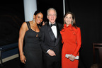Singer Audra McDonald pictured with S.L.E. Lupus Foundation President Richard DeScherer and Board member Jennie DeScherer at Gala 2012 at the American Museum of Natural History in NYC.  (PRNewsFoto/S.L.E. Lupus Foundation, Matthew Carasella)