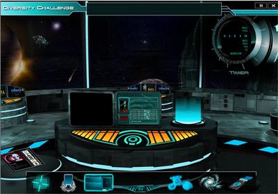 """Our Worlds of Makrini"" control panel/user interface.  (PRNewsFoto/Global Novations)"