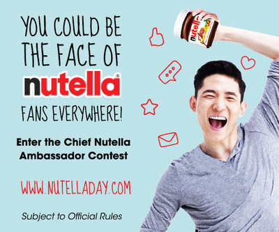Enter now for a chance to become the first ever Chief Nutella Ambassador. Details below.