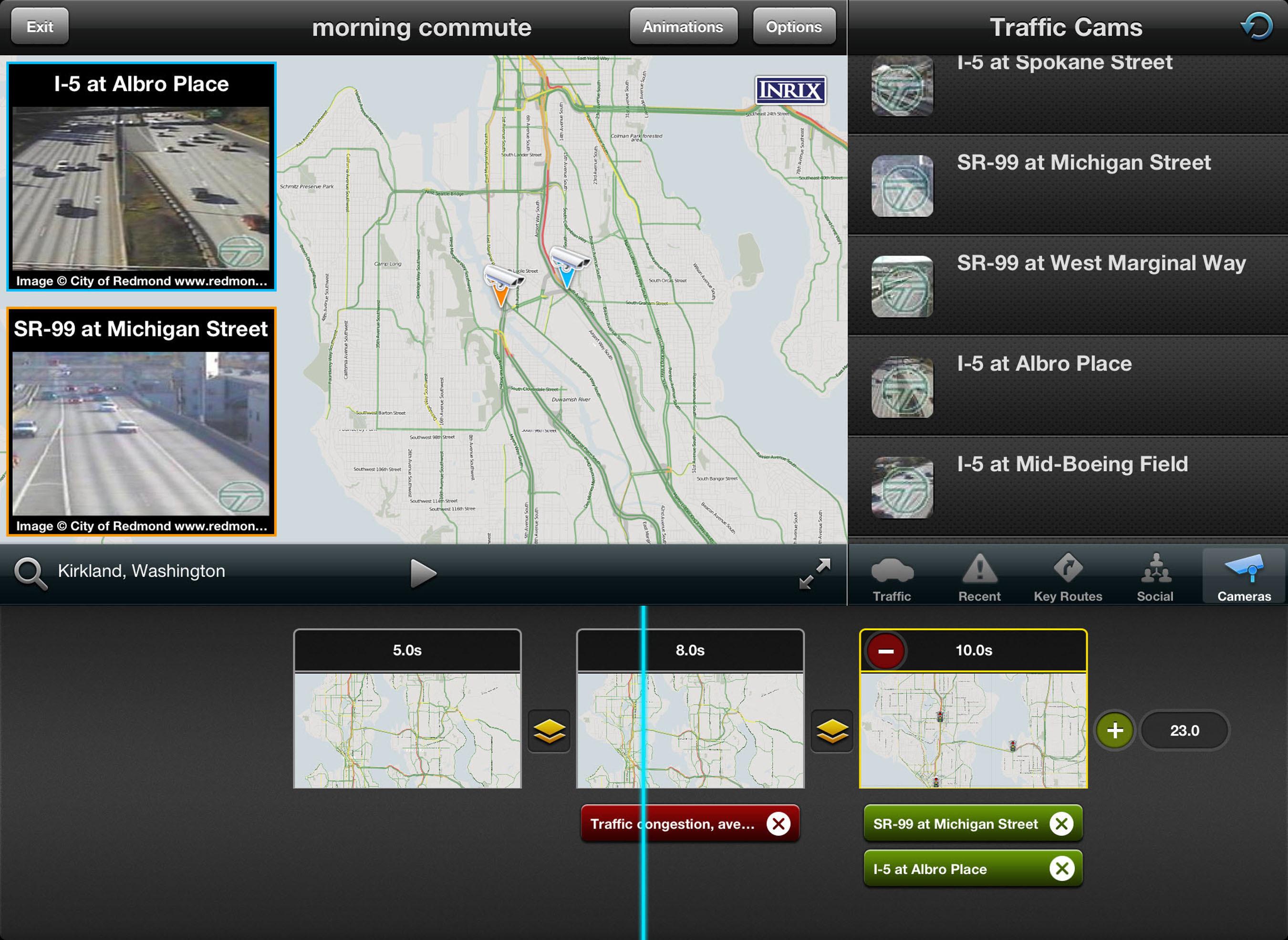 INRIX TV iPad App Transforms Traffic News Reporting.  (PRNewsFoto/INRIX)