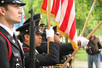 Chicago Cultural Mile Memorial Day Ceremony Honor Guard