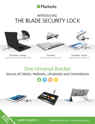 Lock and Protect Your Tablet with Maclocks' New Superhero: The Blade