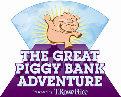 Designed to facilitate family financial conversations, The Great Piggy Bank Adventure(R) comes to life through a free online board game at thegreatpiggybankadventure.com and an interactive exhibit at INNOVENTIONS at Epcot(R). Many parents surveyed say a free online educational game would be a useful resource, and The Great Piggy Bank Adventure(R) - which offers lessons on goal setting, spending vs. saving, inflation, and diversification - can help them turn financial education into a fun and interactive family activity. (PRNewsFoto/T. Rowe Price)