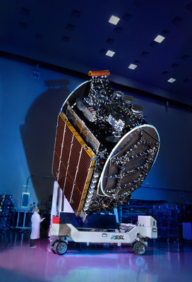SSL-built AsiaSat 8 satellite successfully launched by SpaceX. (PRNewsFoto/SSL)