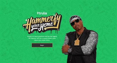 Trulia's Hammerfy Your Home Campaign feat. MC Hammer (www.trulia.com)
