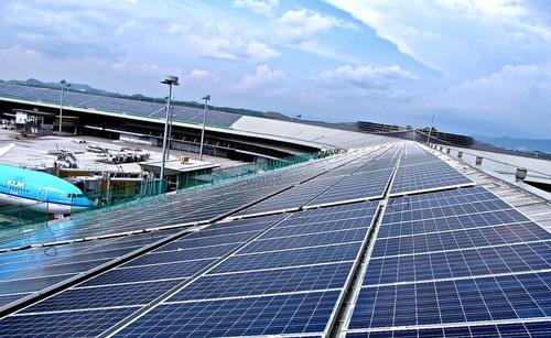 SunEdison and MAHB Announce First Malaysian Solar Installation at KLI. (PRNewsFoto/SunEdison) (PRNewsFoto/SUNEDISON)