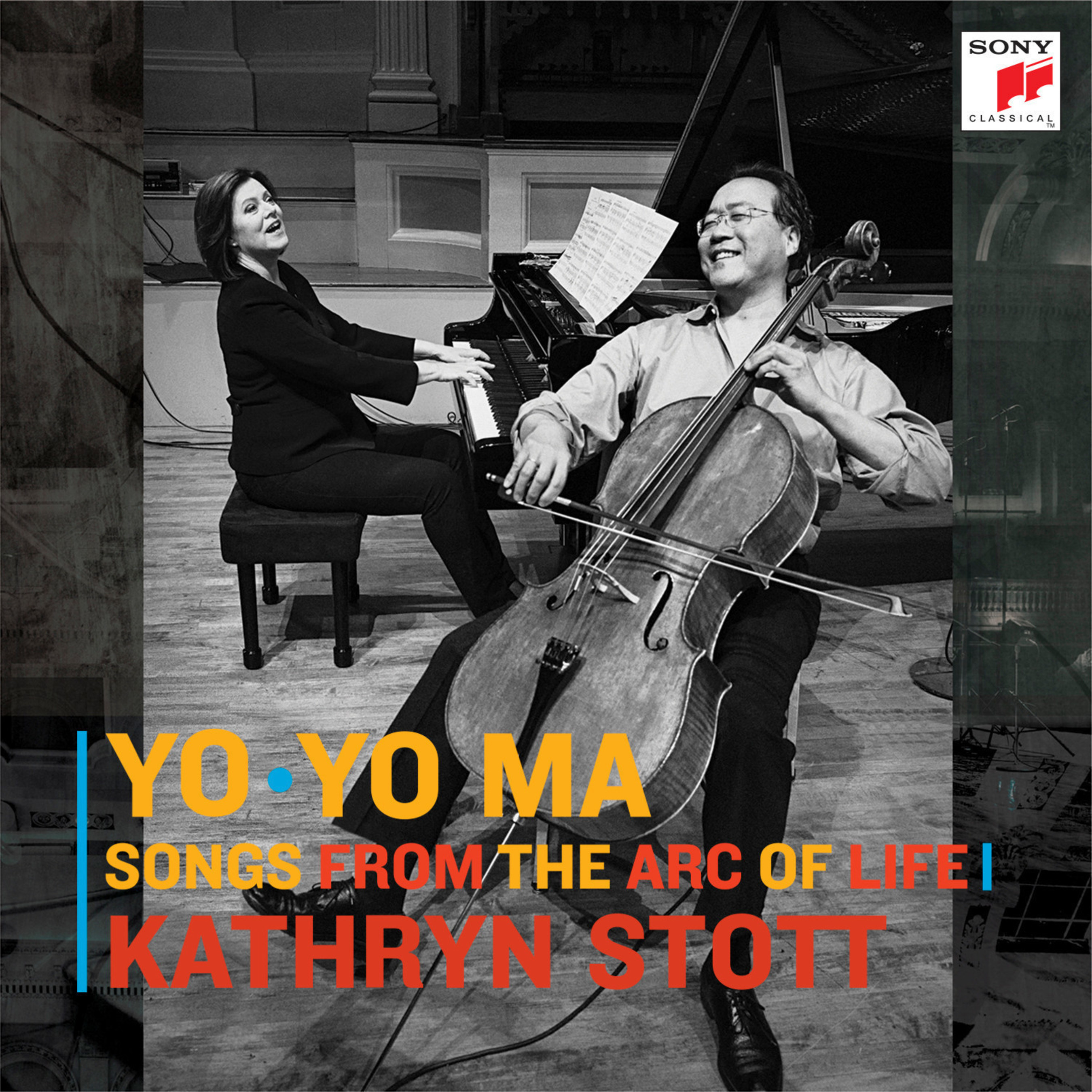 Longtime Friends, Cellist Yo-Yo Ma & Pianist Kathryn Stott Collaborate On New Album Songs From The Arc Of Life