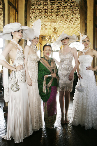 Sue Wong Pays Tribute to Iconic Film, My Fair Lady, at Los Angeles Fashion Week Fall 2011
