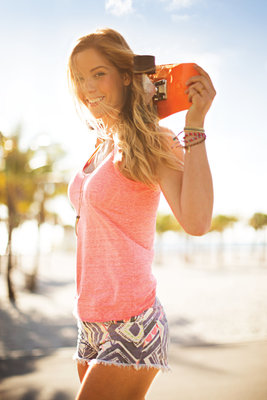 New Face of Hawaiian Tropic contest winner Danielle Erb