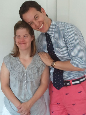 Dr. Brian Skotko and his sister, Kristen.