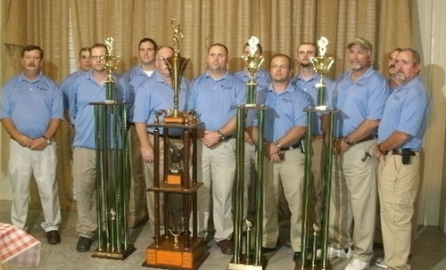 Southern Kentucky Teams- 1st Place and Overall Winner.  (PRNewsFoto/Alpha Natural Resources)
