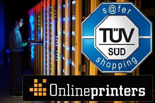 onlineprinters.es recibe de nuevo el sello TÜV s@fer-shopping