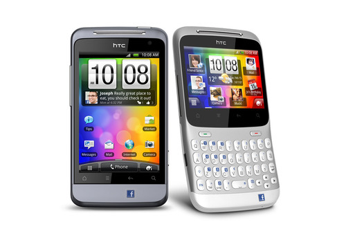 HTC Unveils Two Social Phones With One-Touch Facebook® Access