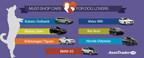 AutoTrader Names Must-Shop Cars for Dog Lovers for National Dog Day (PRNewsFoto/AutoTrader.com)