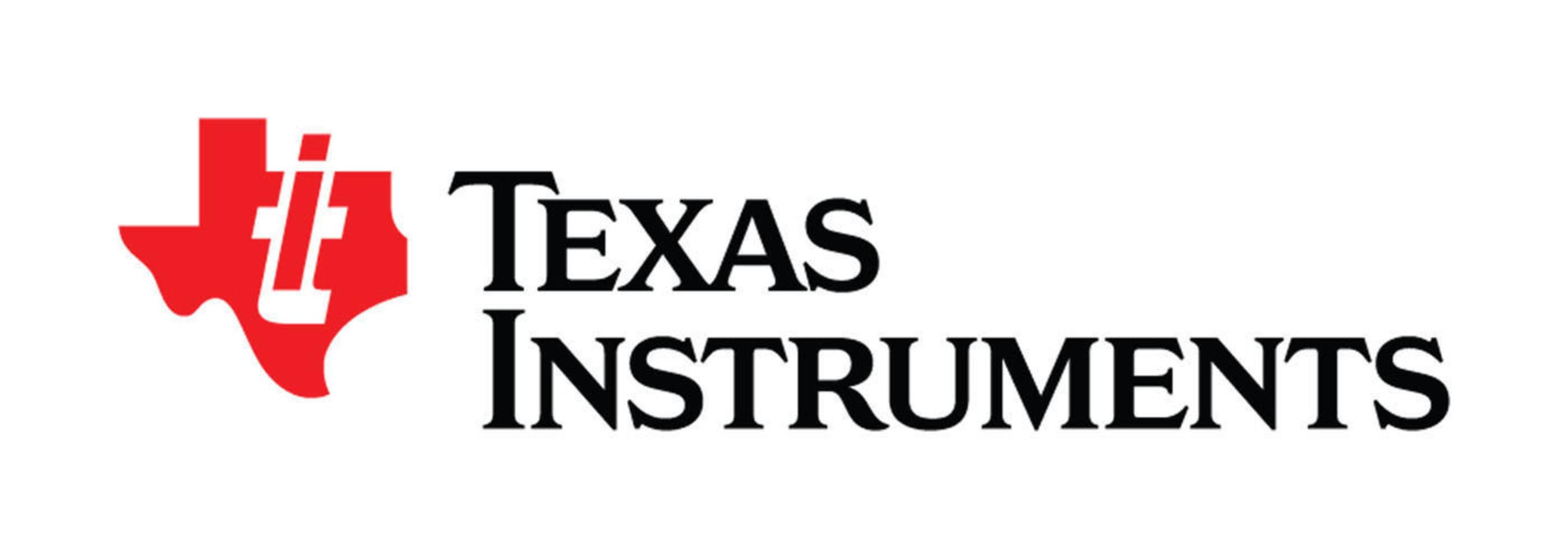 Texas Instruments Logo.