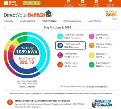 A new way to see your energy bill - Direct Your Energy by Direct Energy