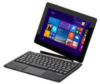 "The first Nextbook Windows tablet from E FUN featuring a 10.1"" IPS screen and detachable keyboard. Available mid-November at Walmart stores nationwide and Walmart.com for $179."