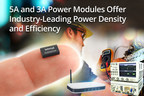 Intersil's 5A ISL8205M and 3A ISL8202M power modules offer industry-leading power density and efficiency in a compact solution size for battery-powered applications.