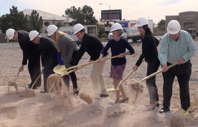 HCA Far West Division breaks ground on Nevada's newest provider-based emergency room, ER at the Lakes, in Las Vegas.