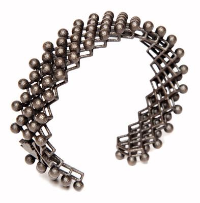 Mad for Dots Bracelet by Nick Graham, 3D Printed by Shapeways  (PRNewsFoto/Shapeways)