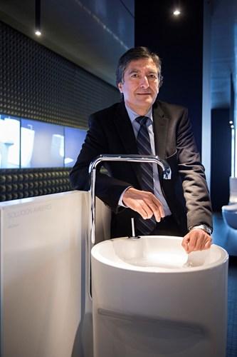 Ramon Asensio CEO of Roca Group (PRNewsFoto/Roca)