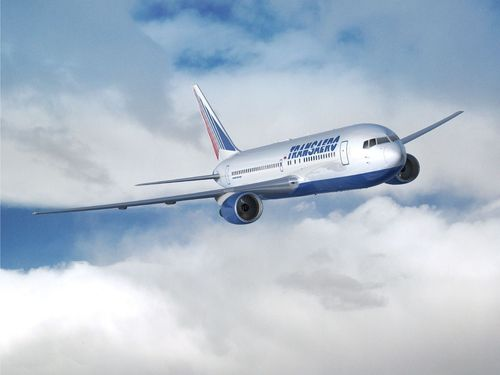 Transaero Airlines to operate nonstop flights between Taipei and Moscow onboard Boeing 767 aircraft (PRNewsFoto/Transaero Airlines)