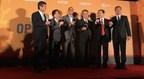 The Group photo of Busan International Film Festival - Asian Film Market (PRNewsFoto/iQIYI)