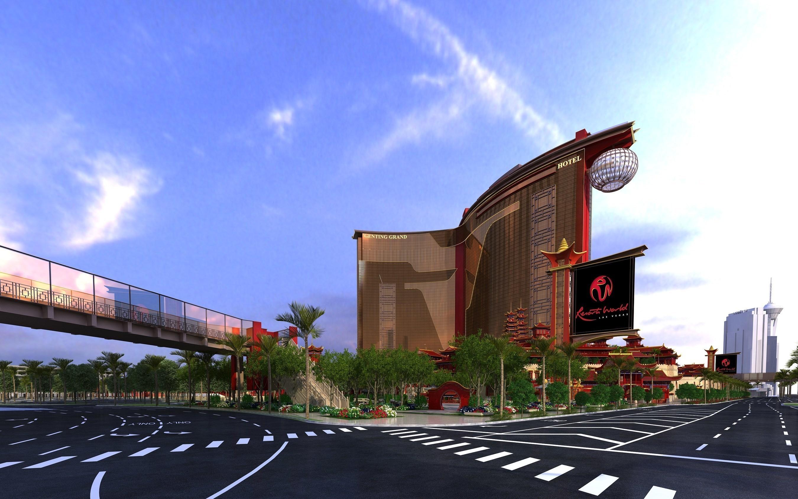 Spatenstich der Genting Group für Resorts World Las Vegas
