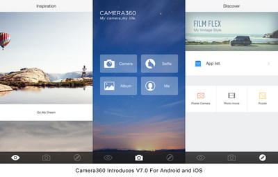 Through this update, Camera360 aims to become a platform providing mobile photography product and service.