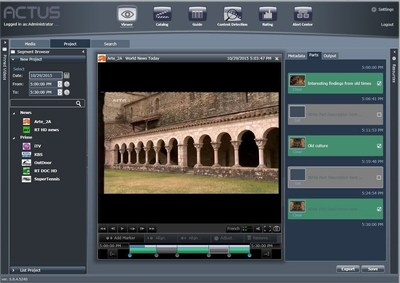 Include and Exclude video segments: frame accurate and immediate