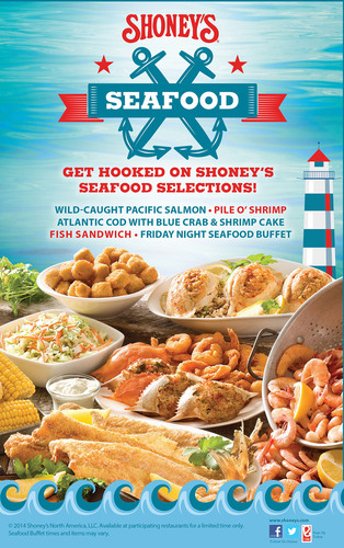 Shoney's(R) Invites America to Get Hooked on Its Seafood Selections.  (PRNewsFoto/Shoney's)