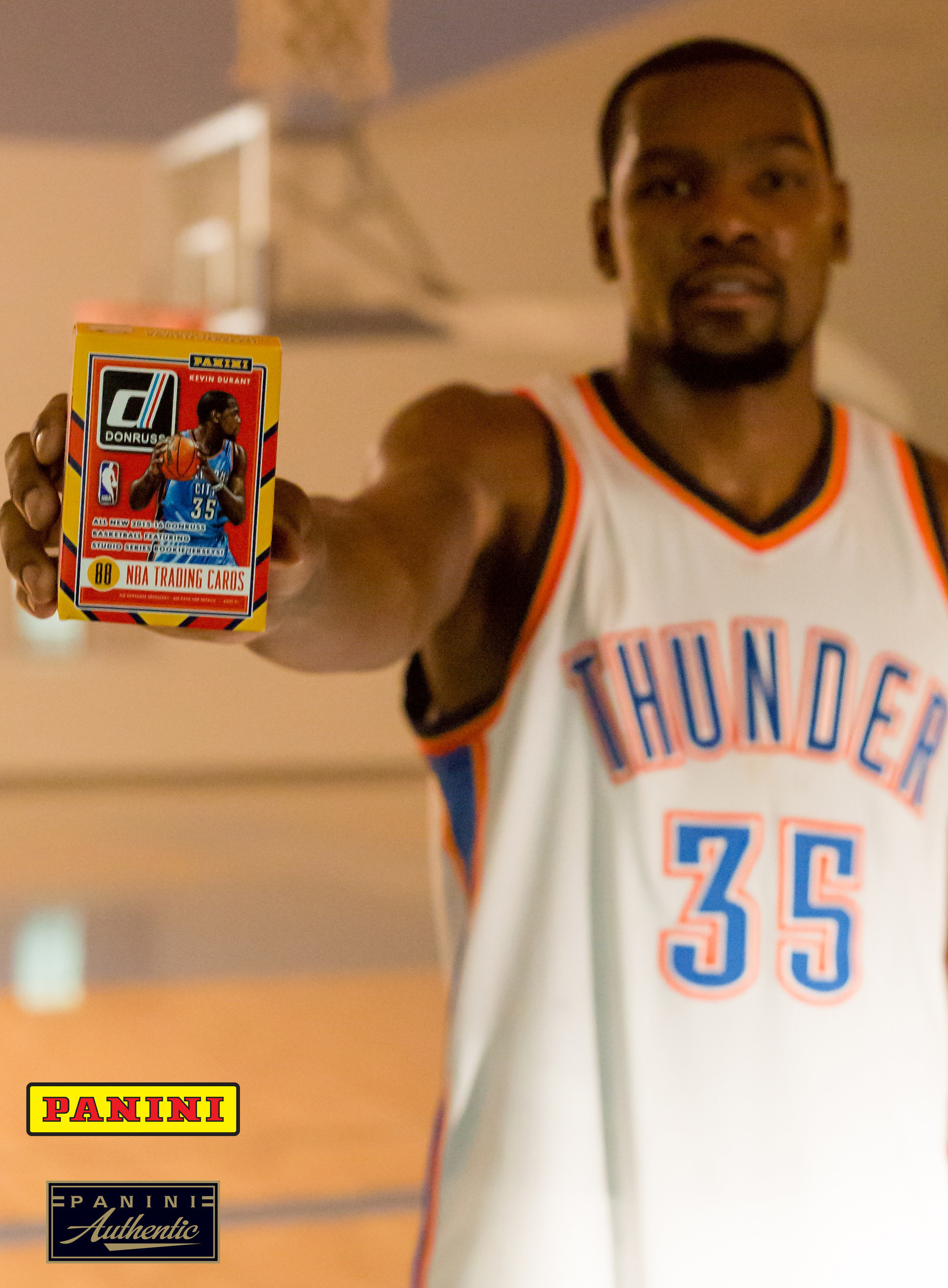pretty nice b7194 3d1c4 Panini America And Kevin Durant Agree To Long-Term Exclusive ...