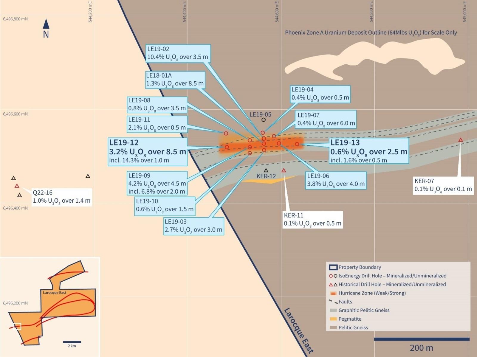 Figure 2 – Hurricane Zone Planview