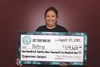 Congratulations Petra-Progressive Jackpot Winner at Central California's Table Mountain Casino! Photo Credit:  Table Mountain Casino