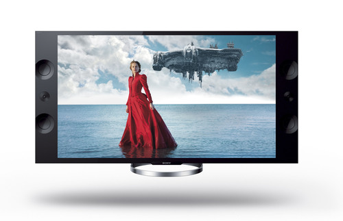 Sony 4K Ultra HD TVs now shipping with a picture that's four times clearer than regular HD.  (PRNewsFoto/Sony Electronics)