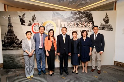 The Thailand Convention and Exhibition Bureau (Public Organization) or TCEB has launched the first Thailand Incentive & Meeting Exchange 2016 programme or TIME 2016, offering the MICE industry a new platform for knowledge exchange and business negotiations. With an initial focus on Meetings and Incentives in China, a key MICE market for Thailand.