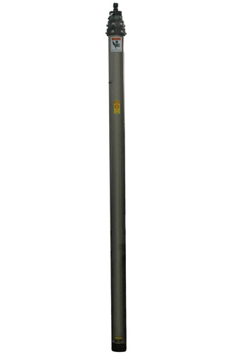 The Magnalight PLM-18 Pneumatic Light Mast provides a safe and effective way for operators to quickly deploy lights, security cameras and other equipment to elevations up to eighteen feet.  (PRNewsFoto/Larson Electronics)