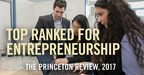 Babson College Named Top U.S. Undergraduate and Graduate School for Entrepreneurship by The Princeton Review and Entrepreneur Magazine