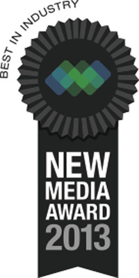 Scarinci Hollenbeck Best in Industry New Media Award.  (PRNewsFoto/Scarinci Hollenbeck)